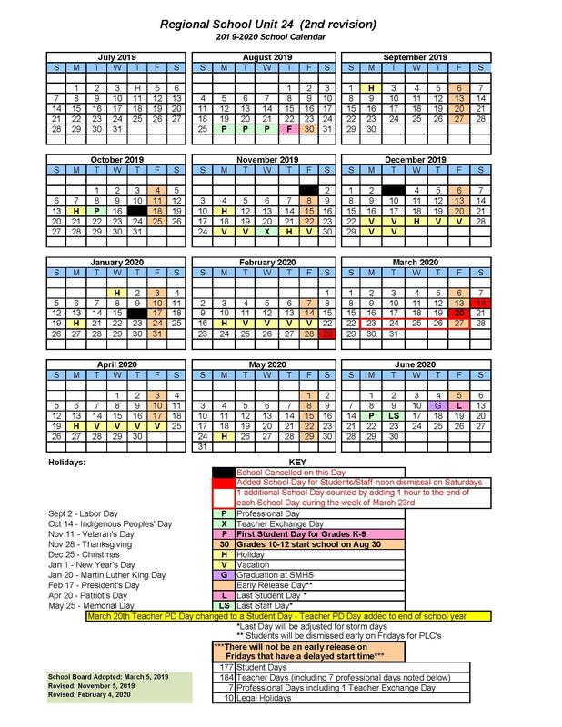 RSU 24 2019-2020 school calendar - 2nd revision.jpg