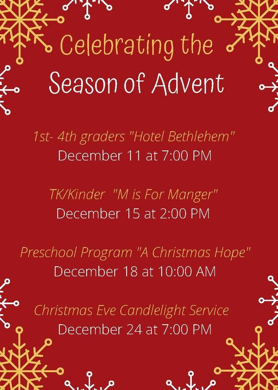 Join us as we Celebrate the Season of Advent Featured Photo
