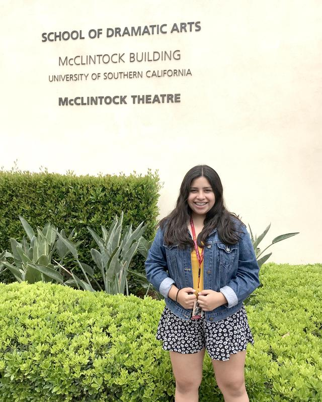 Allison Perea '20 attends USC's Summer Theatre Conservatory Featured Photo
