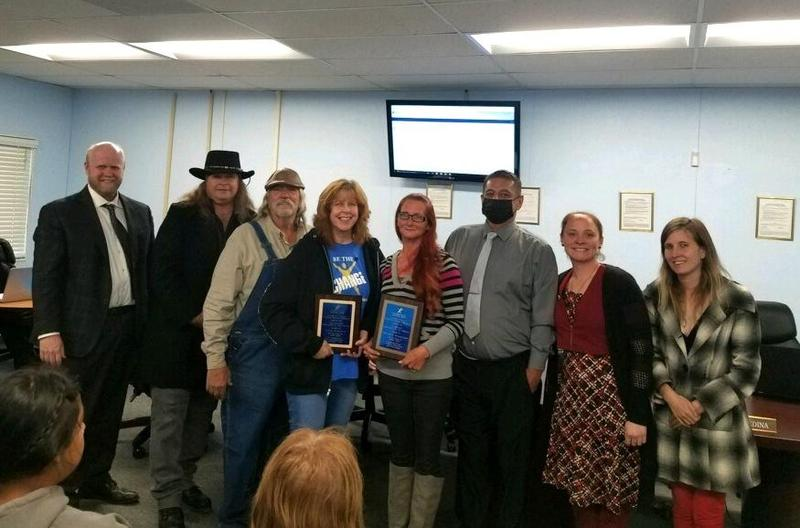 April Meeting: Linda Schlenz, Samantha Kerestessy Named Employees of the Month Featured Photo