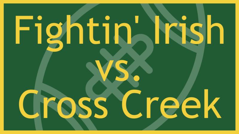 Football vs. Cross Creek