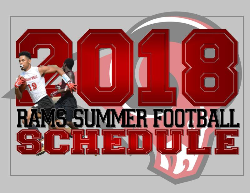 Rams Summer Football Schedule