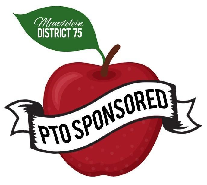 District 75 PTO Apple Graphic