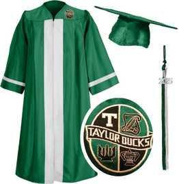 Taylor Cap and Gown