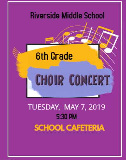 6th Grade Concert