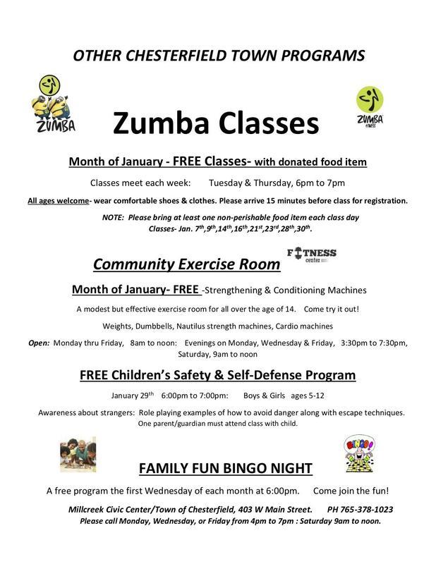 Free Zumba Classes Thumbnail Image
