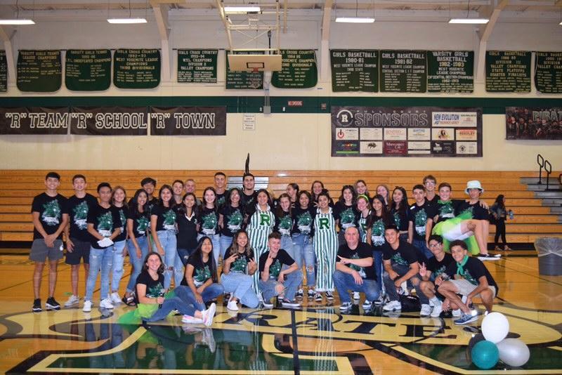 Reedley High School ASB team