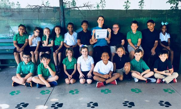 3rd grade A.R. Winners