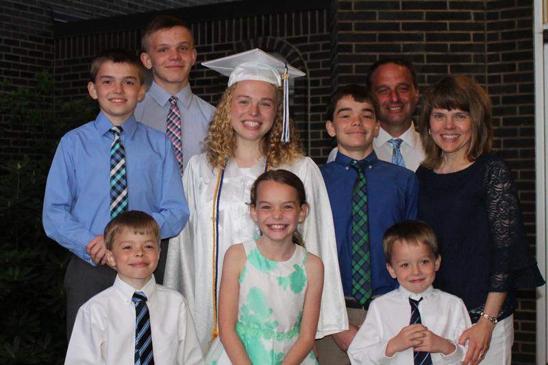 Family Spotlight - The Scott and Christine Farabaugh Family Featured Photo