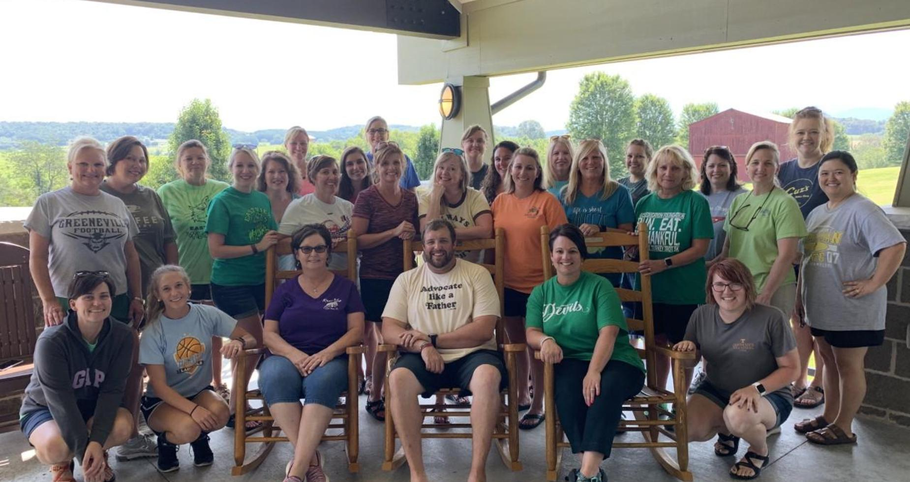 EastView Staff at Retreat