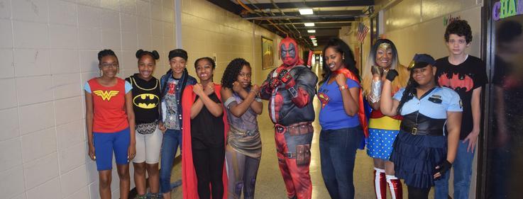Denman Junior High celebrates Spirit Week Homecoming 2018.