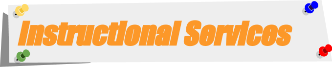Instructional Services Header
