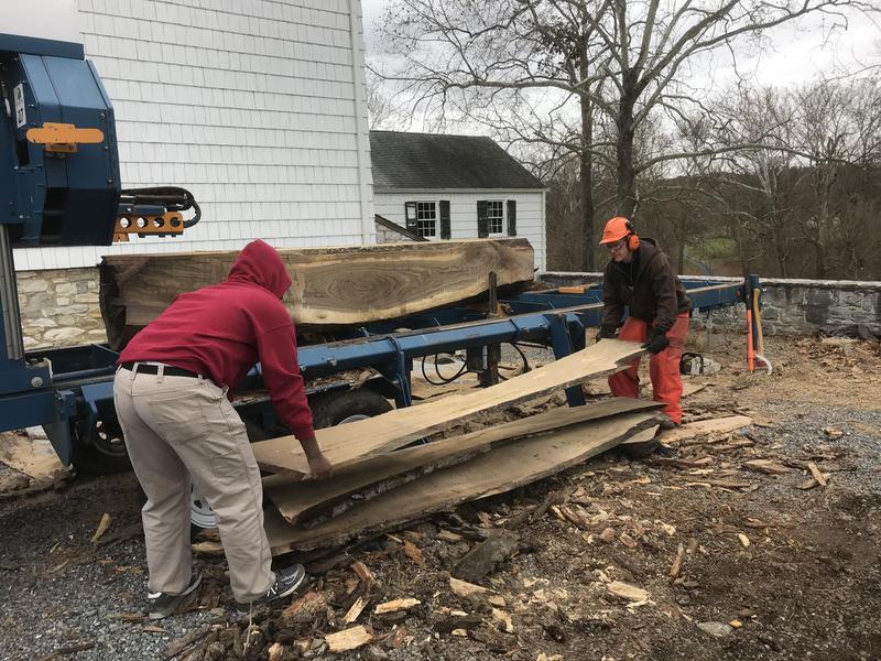 Carpentry Scholars Visit Casey Trees Farm Thumbnail Image