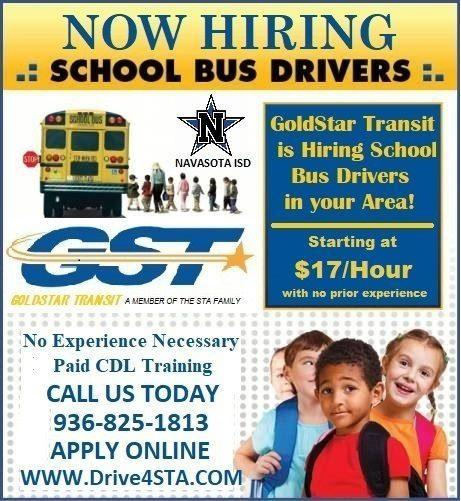 JOIN A GREAT TEAM AND DRIVE OUR KIDS! Featured Photo