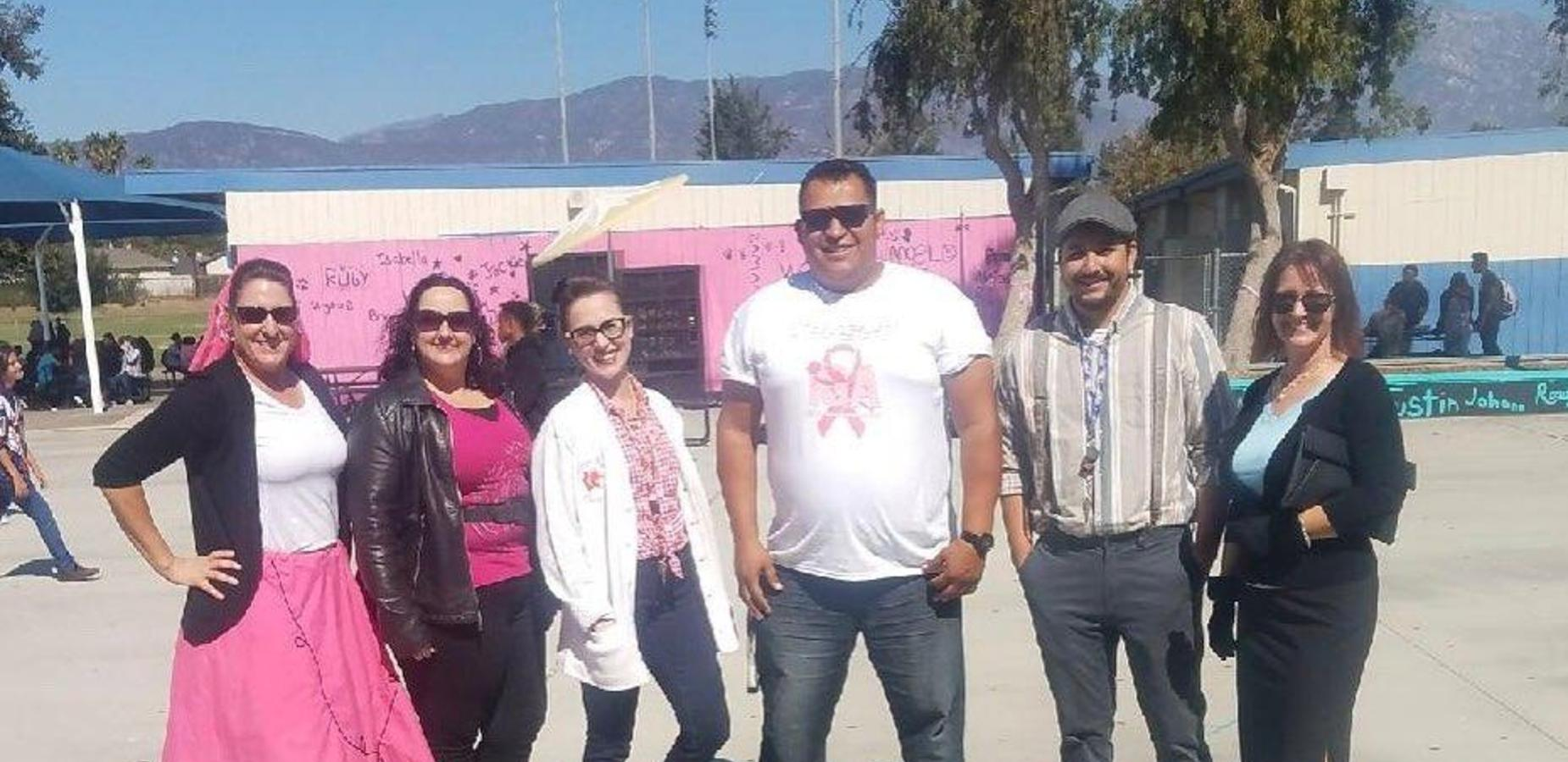Palomares is all about Breast Cancer Awareness Week!
