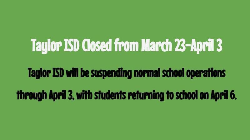 school closed until April 6th