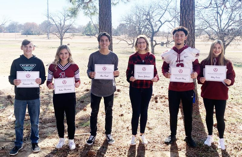 AHS Students of the Month Featured Photo