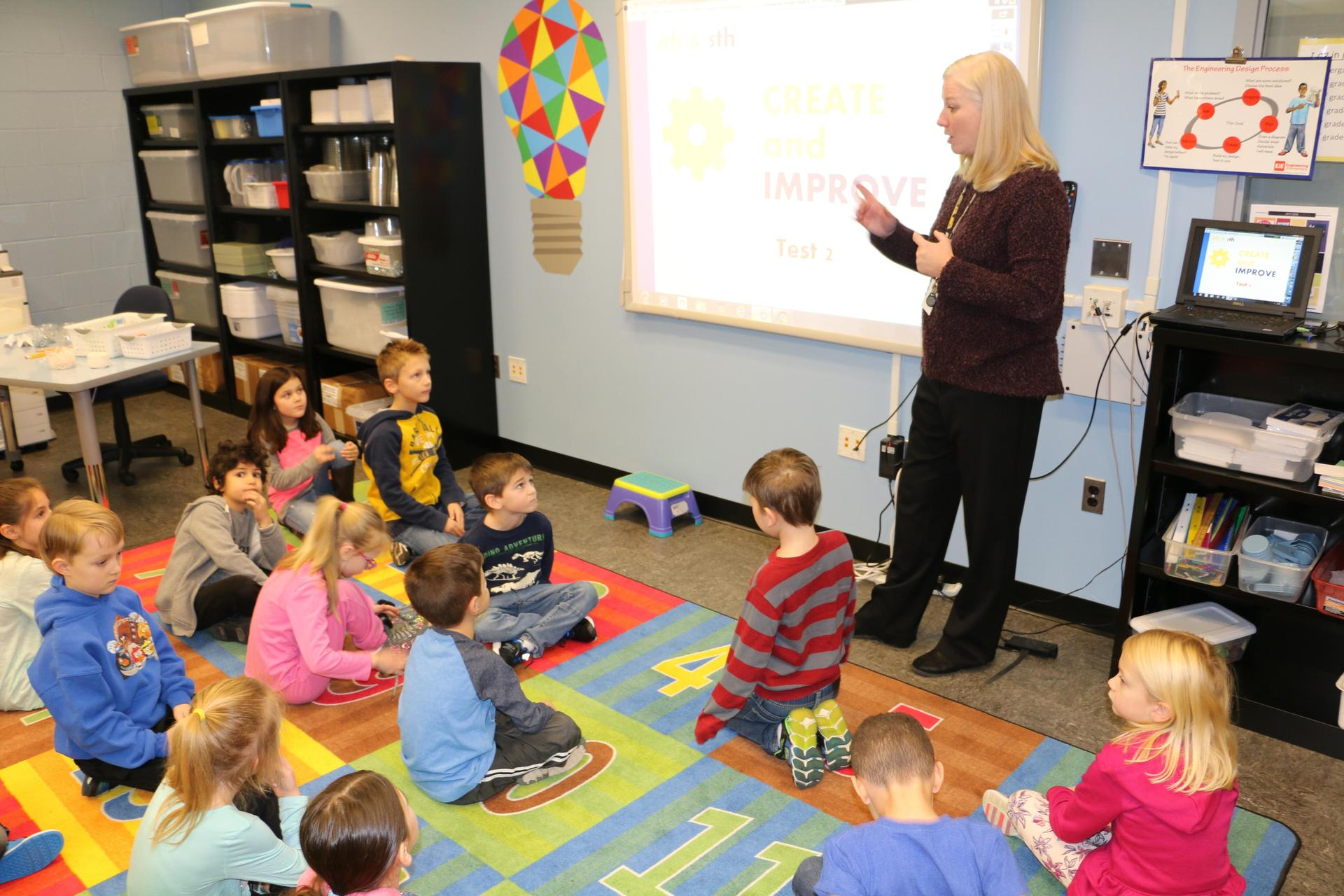 Mrs. Masters Teaching