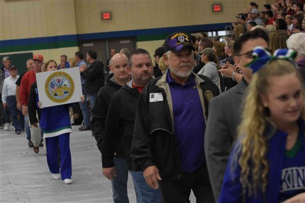 Veterans Day at Fairmont Junior High