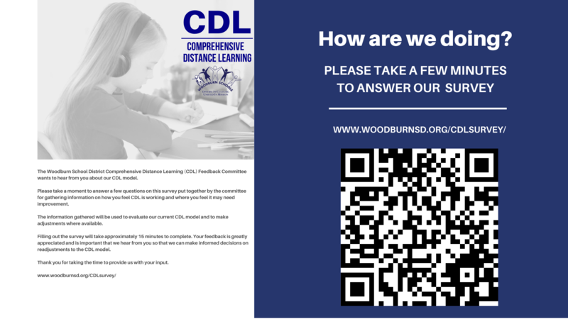 WSD Comprehensive Distance Learning Survey Featured Photo