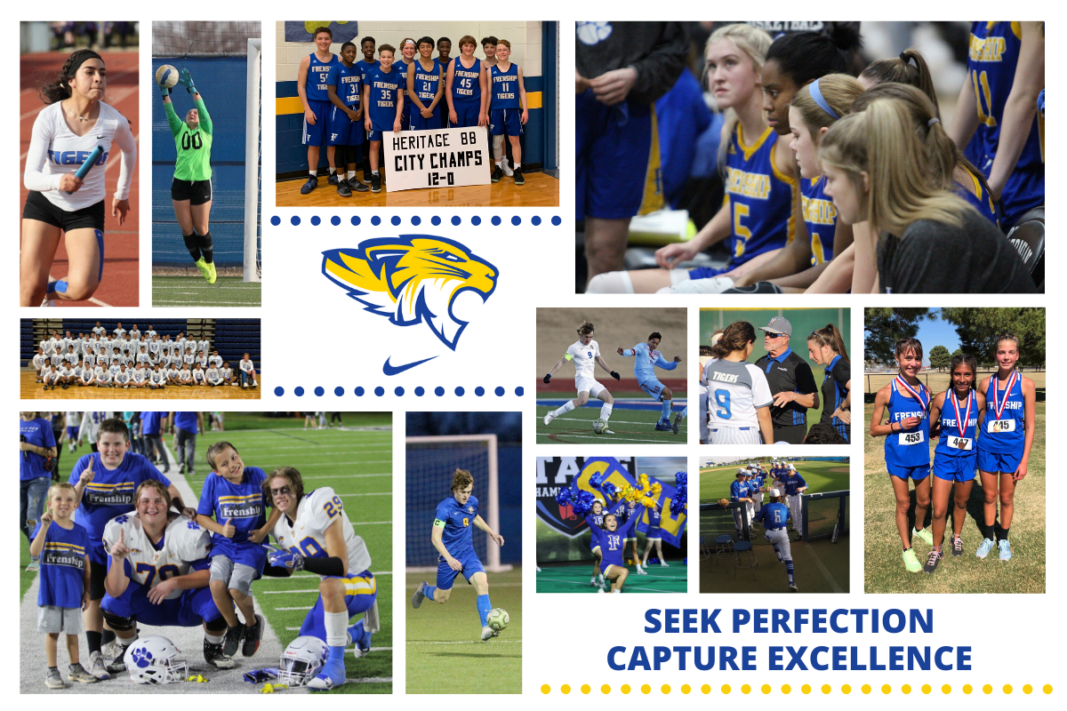 District Athletics Collage