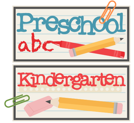 ATTENTION PRESCHOOL AND KINDERGARTEN FAMILIES Thumbnail Image