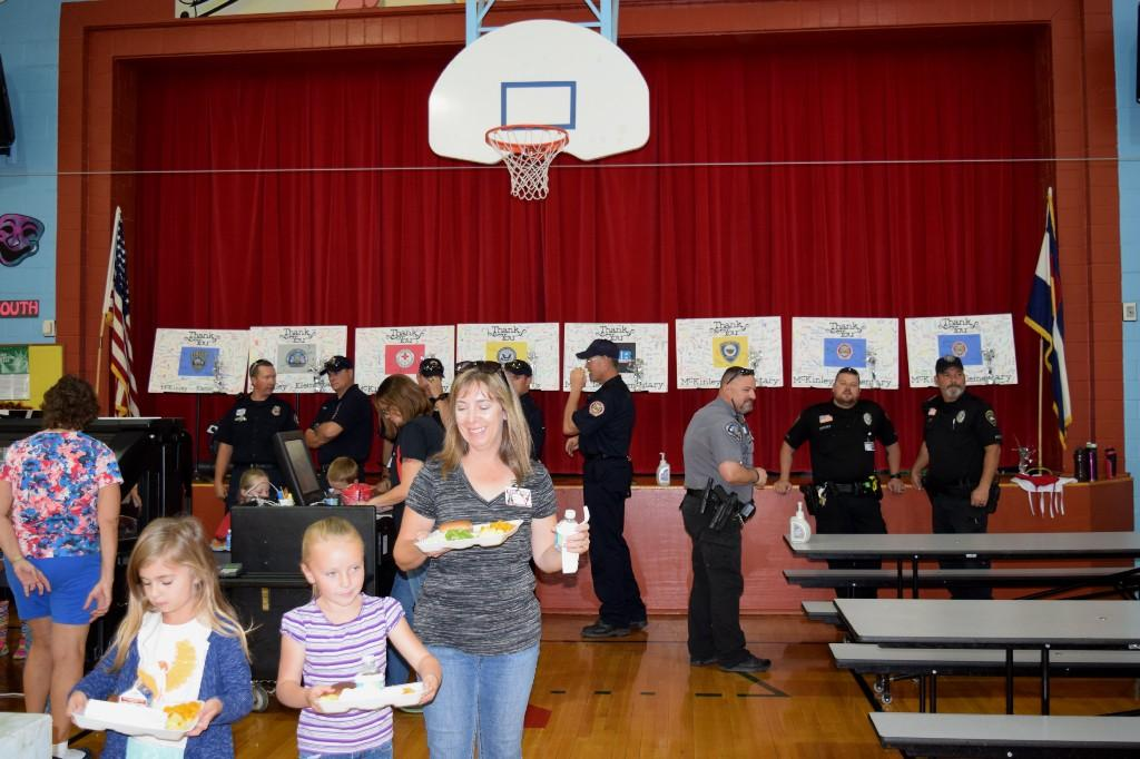 Parents at lunch for Wildcat Grill