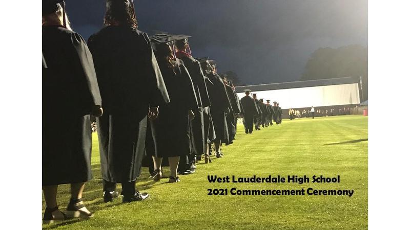 WLHS Graduation Ceremony Field Photo