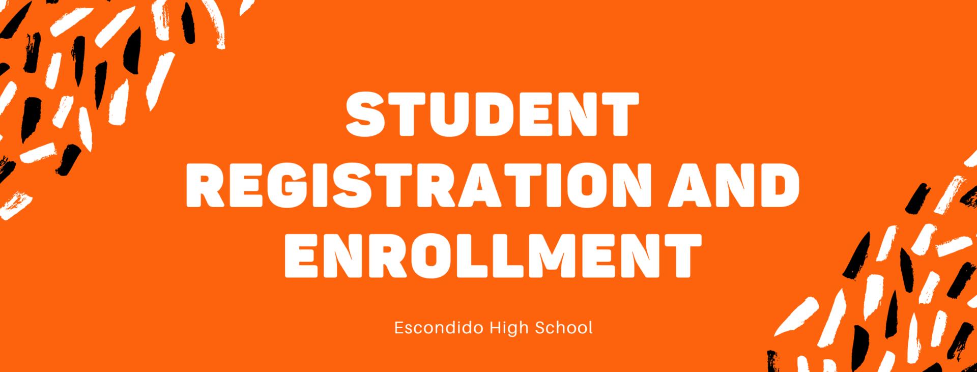 registration and enrollment