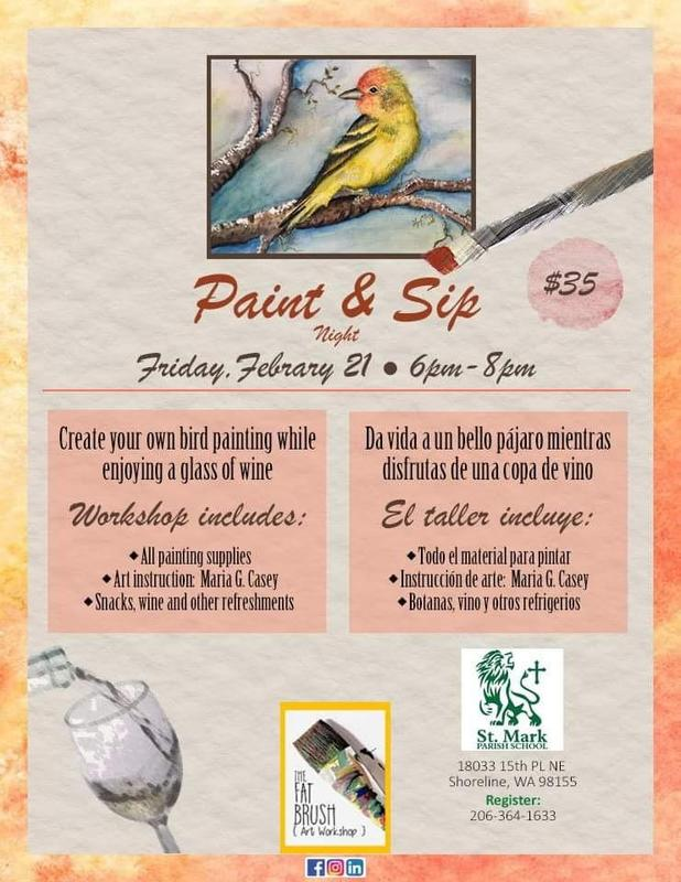 Auction FUNdraising event - Paint and Sip Night!