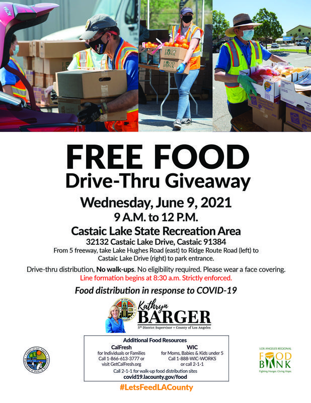 Free Food Drive-Thru
