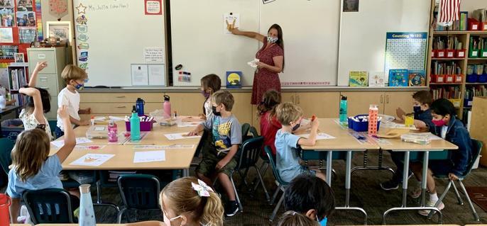 1st grade classroom