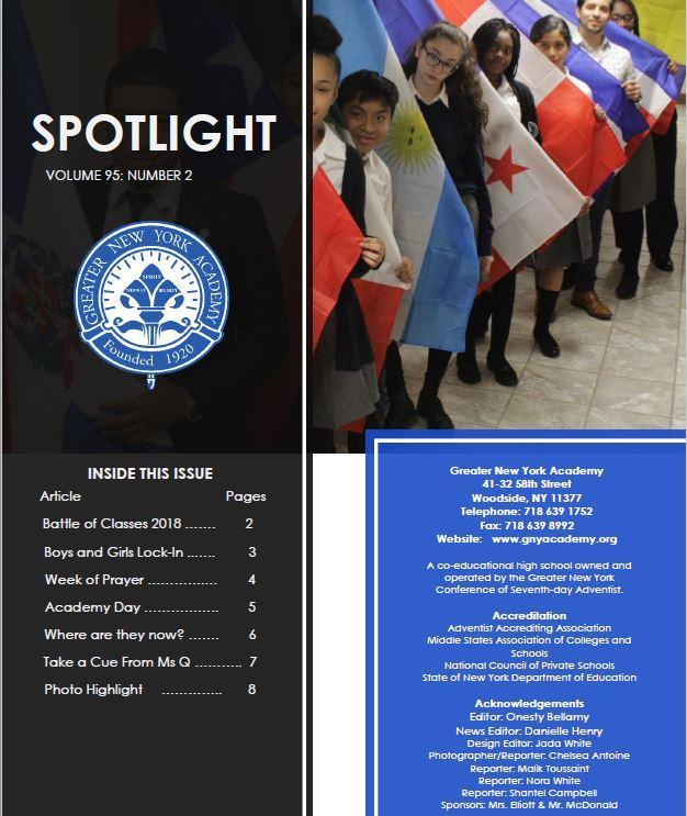 Spotlight December 2018 Thumbnail Image