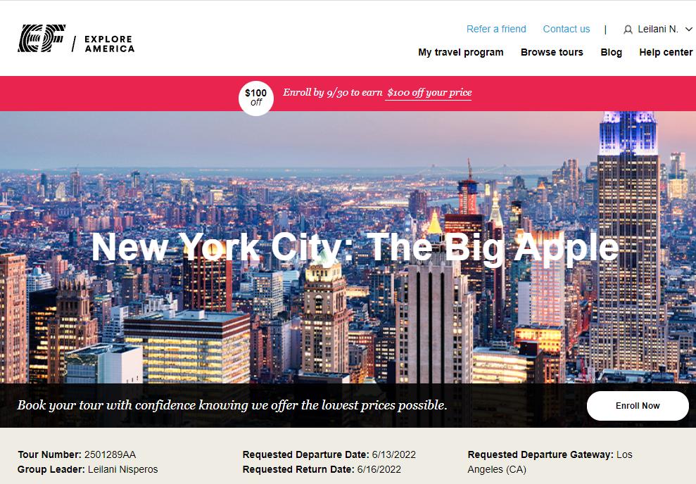 New York Trip 2022