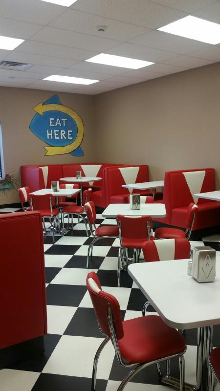 The Diner inside the Child Nutrition Center