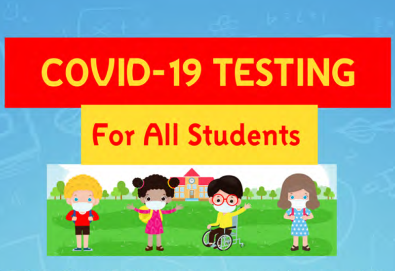 COVID-19 testing for all students Featured Photo