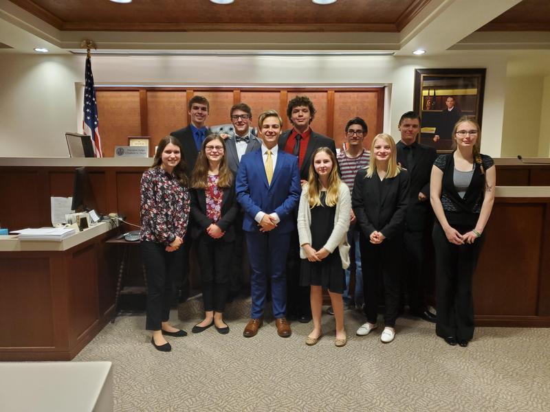 Mock Trial Team Photo