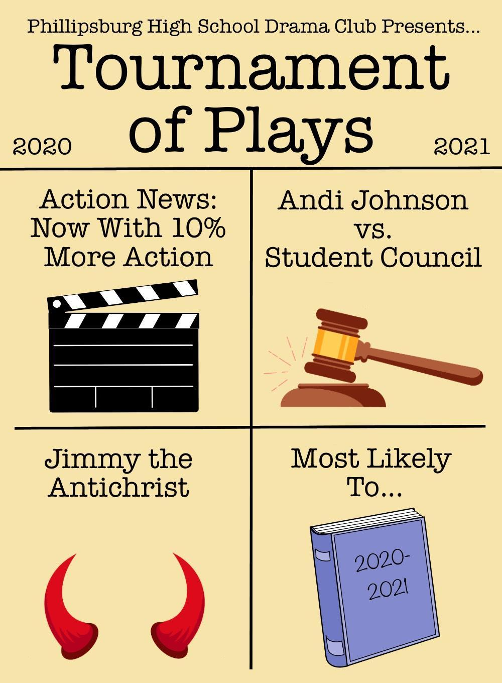 Tournament of Plays Poster
