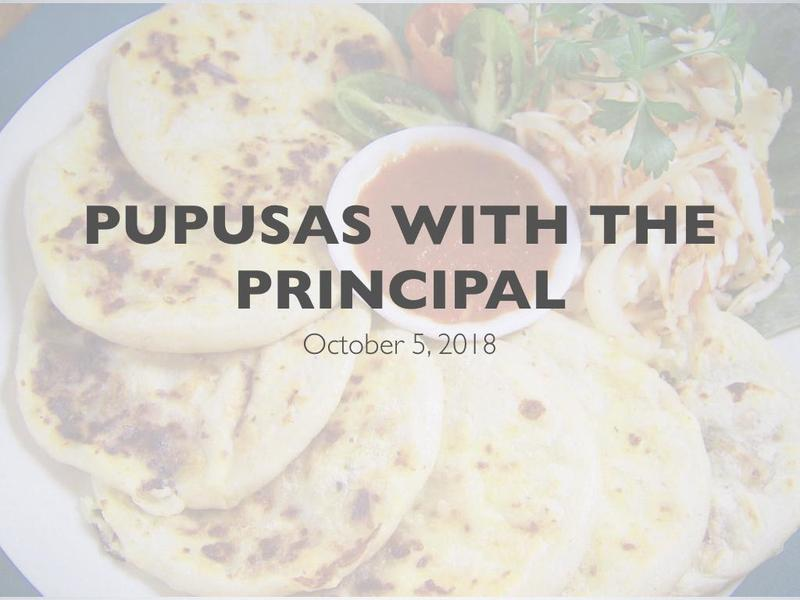 Pupusas with the Principal Featured Photo