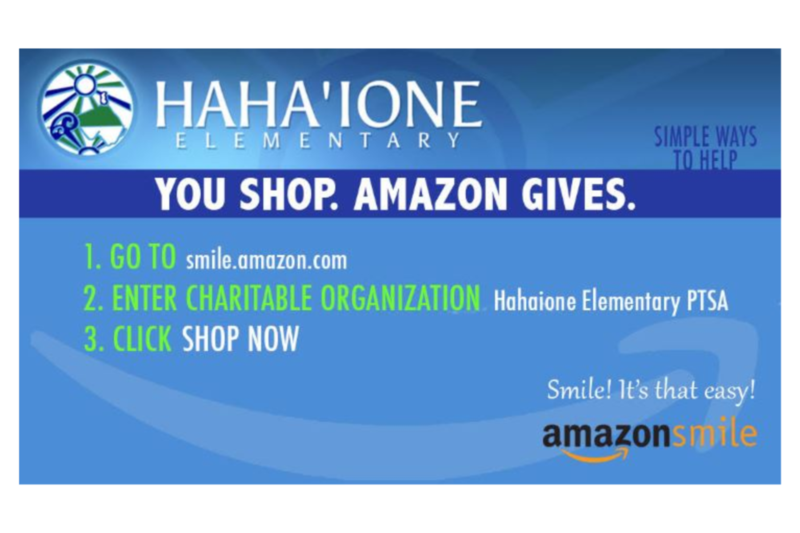 Shop Amazon Smile and earn $$$ for our school! Featured Photo