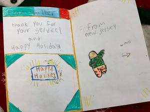 cards from students