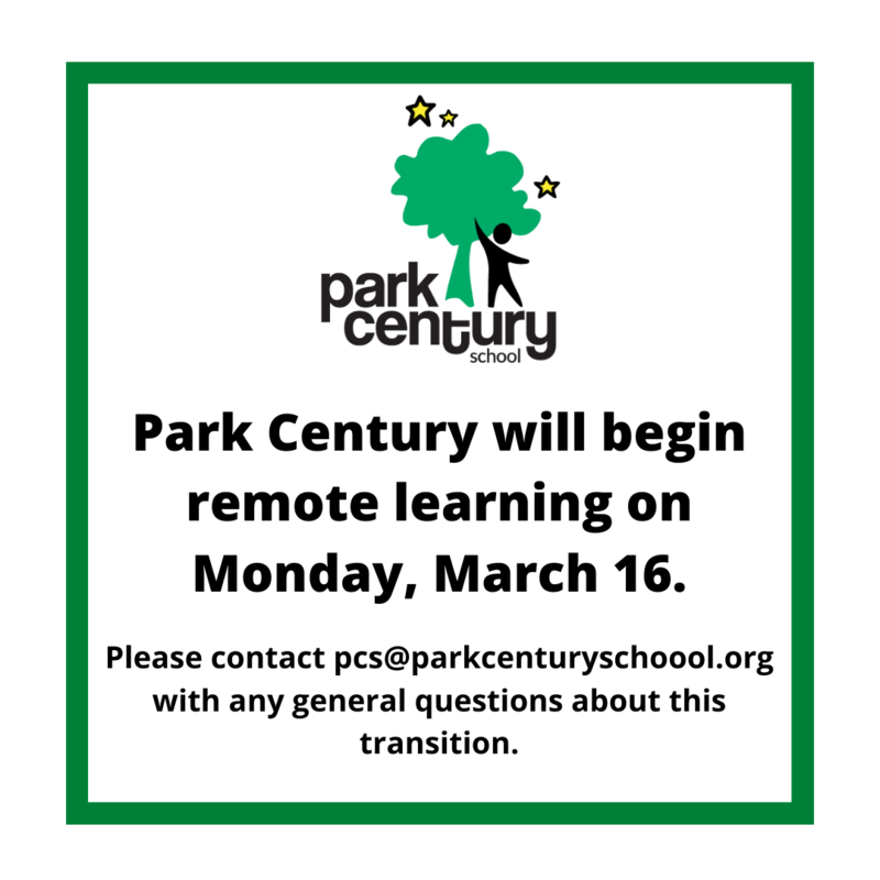 Park Century School Campus Closed - Remote Learning Plan Enacted Featured Photo