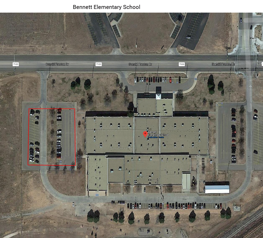 Bennett Elementary wifi map