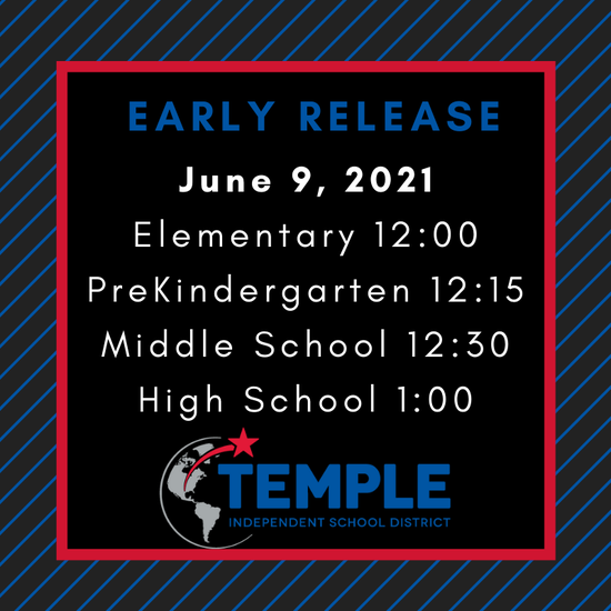 Early Release- June 9th Featured Photo