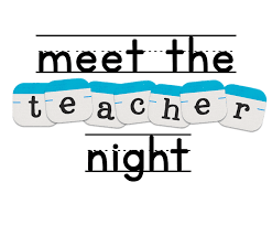 Meet The Teacher Aug. 14th 5pm
