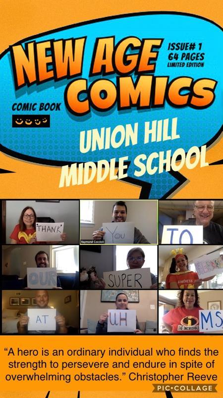 UHMS Heroes Collage