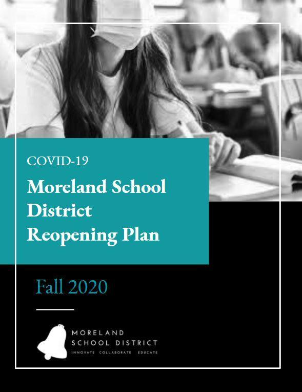 Moreland SD Reopening Plan