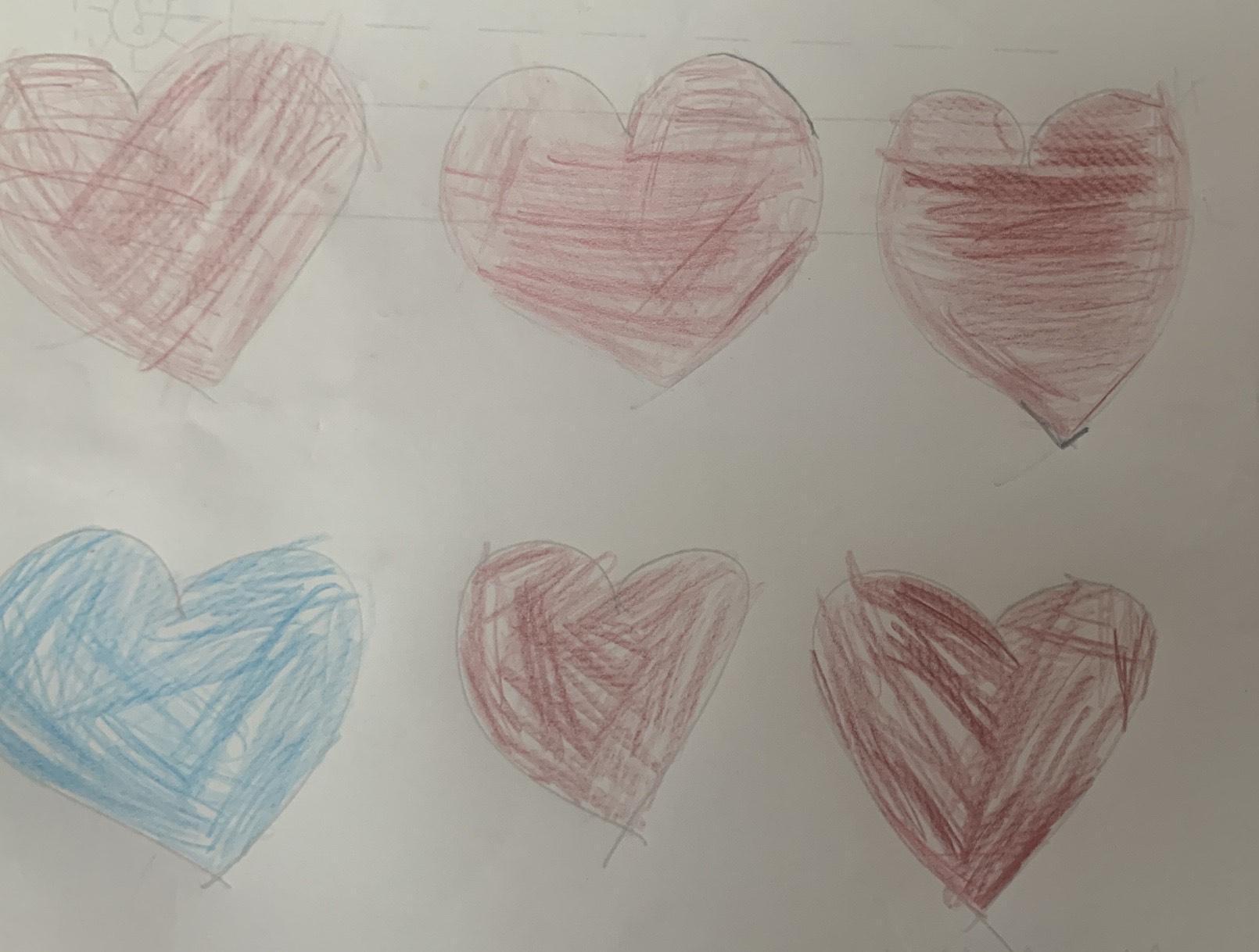 K-7 Work of heart photos