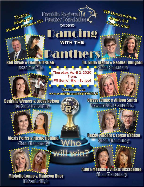 Dancing with the Panthers Team Poster