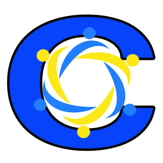icon showing the letter C with people joined together